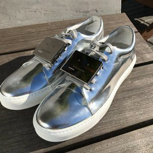"Acne Studios ""Adrianna"" Silver Sneakers Size EU 40"